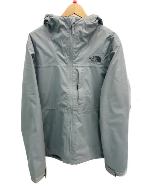 THE NORTH FACE(ザノースフェイス)THE NORTH FACE (ザノースフェイス) トリクライメイトジャケット グレー サイズ:Mサイズ 無地の古着・服飾アイテム