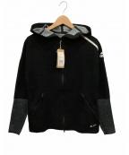 adidas(アディダス)の古着「ジップパーカー」 ブラック