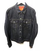 THE REAL McCOYS(リアルマッコイズ)の古着「デニムジャケット」|ネイビー