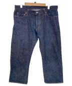 THE REAL McCOYS(リアルマッコイズ)の古着「セルビッチデニムパンツ」|ネイビー