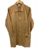 CHUMS(チャムス)の古着「ジーンコート」|ブラウン