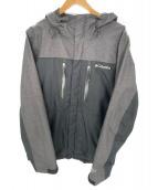 Columbia(コロンビア)の古着「フーデッドジャケット」 グレー
