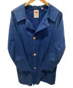 DANTON(ダントン)の古着「ワークコート」 ブルー