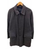BURBERRY BLACK LABEL(バーバリーブラックレーベル)の古着「ロングコート」|グレー
