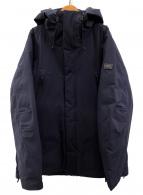 AIGLE(エーグル)の古着「透湿防水コンパクトエクスプローラーダウンジャケット」|ネイビー