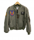 TED COMPANY(テッドカンパニー)の古着「MA-1フライトジャケット」 カーキ