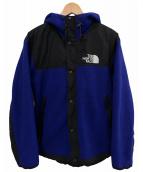 ()の古着「アクスフリースジャケット」 ブルー×ブラック