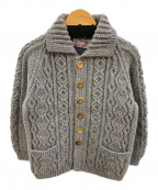 INVERALLAN(インバーアラン)の古着「ニットジャケット」|グレー