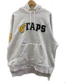 WTAPS(ダブルタップス)の古着「プルオーバーパーカー」|ライトグレー
