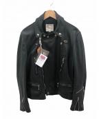 Lewis Leathers(ルイスレザース)の古着「レザージャケット」 ブラック