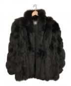 SAGA FOX(サガフォックス)の古着「フォックスファーコート」 ブラック