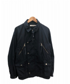 ()の古着「コマンダージャケット」 ネイビー