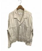doublet(ダブレット)の古着「シルクデニムジャケット」 ホワイト
