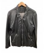 GIORGIO BRATO(ジョルジオ ブラッド)の古着「レザージャケット」 ブラック