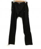 DAMIR DOMA(ダミールドーマ)の古着「ウールパンツ」|ブラック