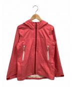 AIGLE(エーグル)の古着「シェルジャケット」|ピンク