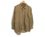 BURLAP OUTFITTER(バーラップアウトフィッター)の古着「スープレックスシャツ」|カーキ