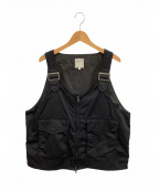 BEAMS(ビームス)の古着「ユーティリティベスト」|ブラック