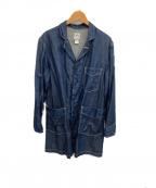 POST O'ALLS(ポストオーバーオールズ)の古着「カバーオール」|インディゴ