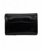 WILDSWANS(ワイルドスワンズ)の古着「3つ折り財布」|ブラック