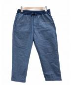 nanamica(ナナミカ)の古着「コーチパンツ SUCS822」|ブルー