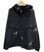 nanamica(ナナミカ)の古着「アルファドライフーデッドパーカ」|ブラック