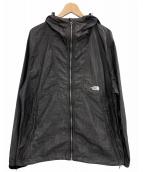 ()の古着「ナイロンデニムコンパクトジャケット」 グレー