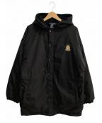 POLO SPORT(ポロスポーツ)の古着「裏起毛コート」 ブラック