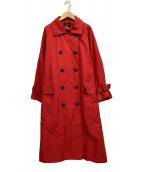 ()の古着「オーバーサイズコート」|レッド