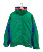 Columbia(コロンビア)の古着「バガブー1986インターチェンジジャケット」 グリーン×ブルー