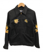 BEAMS BOY(ビームスボーイ)の古着「ベトジャン」 ブラック