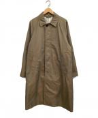 BEAMS(ビームス)の古着「ステンカラーコート」 カーキ