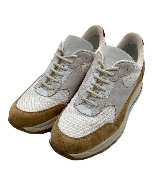 COMMON PROJECTS(コモンプロジェクツ)COMMON PROJECTS (コモンプロジェクツ) スニーカー ベージュ×ホワイト サイズ:43の古着・服飾アイテム