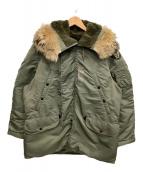 ()の古着「N-3Bタイプコート」|カーキ