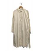 ()の古着「シャツワンピース」|アイボリー