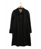 ()の古着「カシミヤコート」|ネイビー