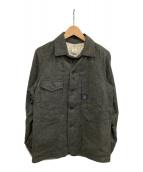 ()の古着「ツイードカバーオール」|グレー