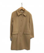 MaxMara(マックスマーラ)の古着「ウールコート」 ベージュ