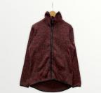 AIGLE(エーグル)の古着「フリースジャケット」|レッド