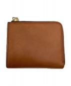 ()の古着「L字ファスナー財布」 ブラウン