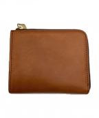 SLOW(スロウ)の古着「L字ファスナー財布」|ブラウン