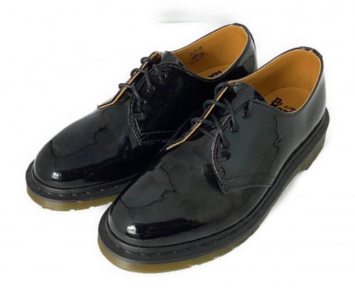 Dr.Martens(ドクターマーチン)Dr.Martens (ドクターマーチン) 3ホールシューズ ブラック サイズ:38の古着・服飾アイテム