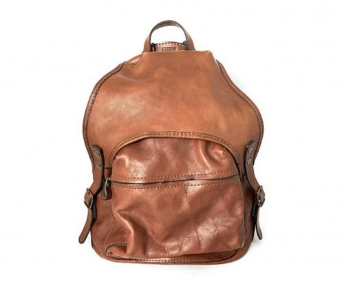 Herz(ヘルツ)Herz (ヘルツ) ヒコーキのりリュック ブラウン サイズ:- R-602-Lの古着・服飾アイテム