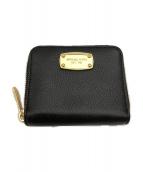()の古着「2つ折り財布 ラウンドファスナー」|ブラック