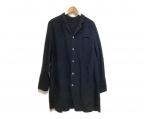 JOHNBULL(ジョンブル)の古着「リネンロングシャツ」 ブラック