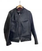 SCHOTT BROS.(ショットブロス)の古着「ライダースジャケット」|ブラック
