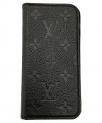 LOUIS VUITTON(ルイ ヴィトン)の古着「iPhoneX & XS・フォリオ ノワール」