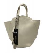 TOFF&LOADSTONE(トフアンドロードストーン)の古着「ヘプタゴントートバッグ」|ホワイト