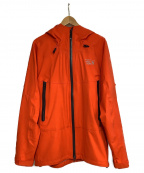 MOUNTAIN HARD WEAR(マウンテンハードウェア)の古着「マウンテンパーカー」 オレンジ