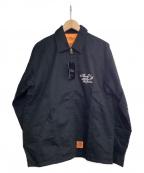 CALEE(キャリー)の古着「ワークジャケット」|ブラック